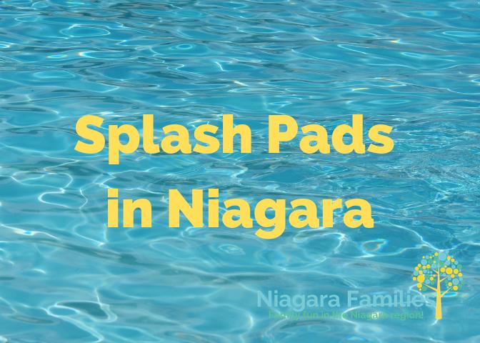 splash pads in niagara