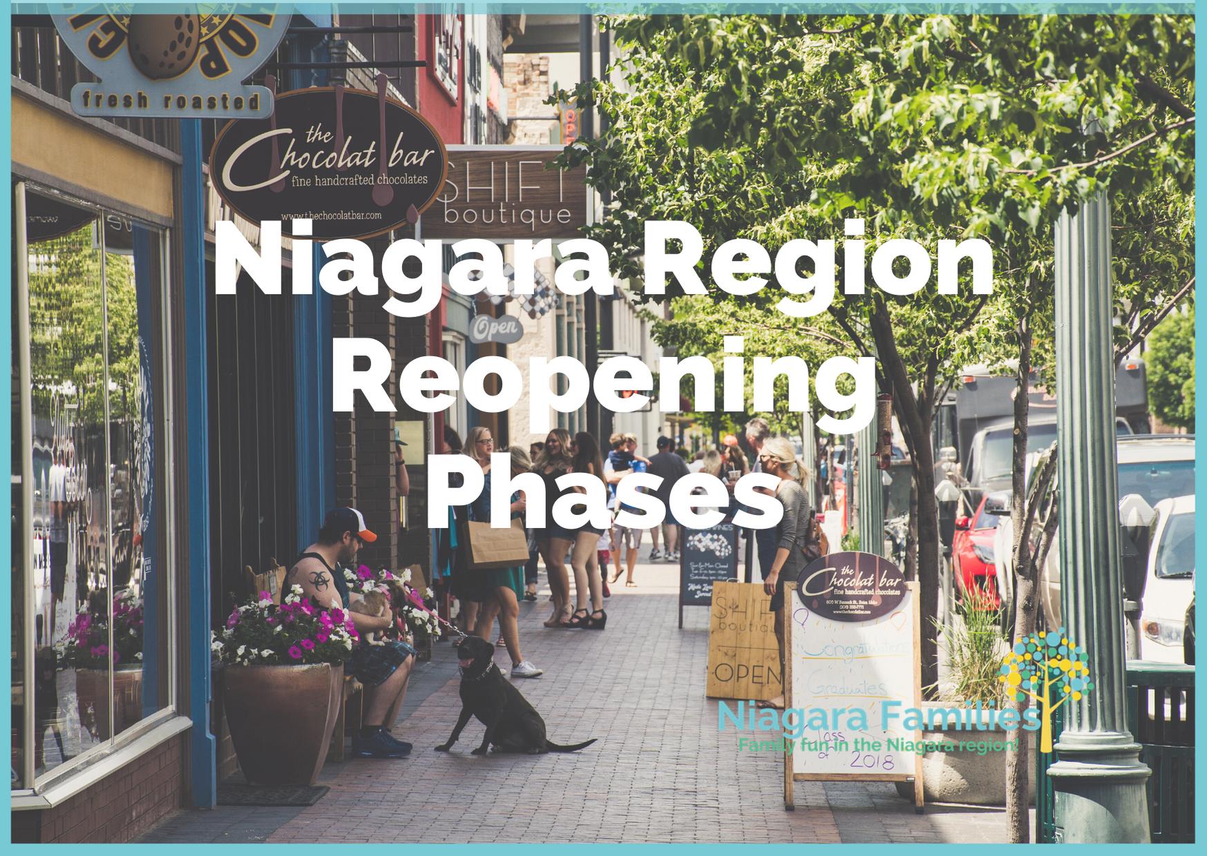 niagara region reopening phases